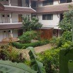 Photo over gardens