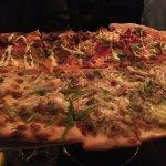 Best Pizza - half Red Sox half Chicken pizza