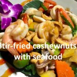 Stir Fried Cashewnuts with Seafood