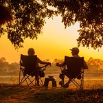 Sun downer at the campground