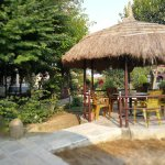 The pagoda's are a great place for drinks, breakfast, dinner or just relaxing.