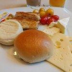 Breakfast at Zest restaurant.