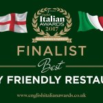 We were finalists in the Best Family Friendly Restaurant, voted by customers for restaurants all