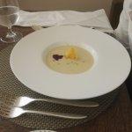 White tomato soup