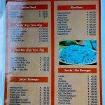 The room service menu 01