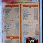 The room service menu 02