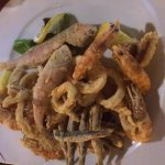 Excellent food in Ristorante del Centro Storico