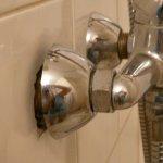 douche avec très peu de pression