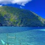 blue water blue sky