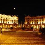 Piazza della Republica de nuit
