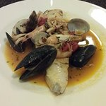 One of the many seafood dishes avaiable