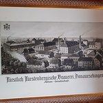 Altes Bild von der Brauerei.