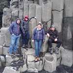 at the Black Beach just before Vik coming from Reykjavik dirction