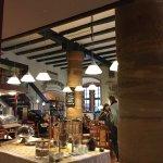 Marktcafe inside