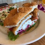 The fish sandwich was awesome!