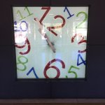 Clock in reception