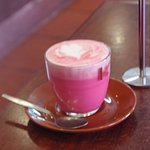 I called beetroot latte