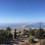Blick auf den südlichen Inselausläufer