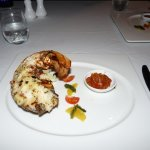 Lobster tail- looked good- very disappointing taste