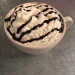 Gray hot chocolate!