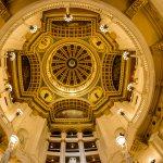 Rotunda dome.