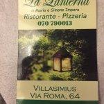Foto van Ristorante Pizzeria La Lanterna