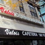 Out side Valois Cafe