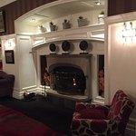 Lobby sitting room.