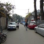 On entering Shatan Hou Street, King Park View Further down. laneway on the left by the 7 Eleven.