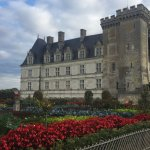 The Chateau from the Kitchen Gardens