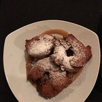 Dutch apple fritters