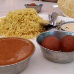 thaali for Rs 180. chole batura was tasty