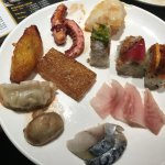 Assortment of food at Ginza Buffet
