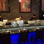 Sushi Bar - where the magic takes place