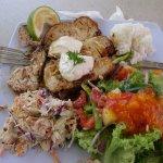 Mahi Mahi Fish Salad
