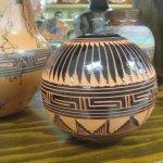 Pottery, Jim Gray's Petrified Wood Co, Holboork, Arizona