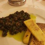 snails & polenta