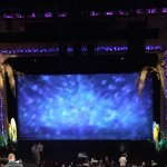 The stage for Escape to Margaritaville.