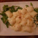 Gnocchi mit Parmesancreme und Mandeln - göttlich