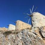 Die alten Mühlen wieder im Aufbau