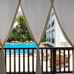 spa at private beach with shuttle - get a discount on services
