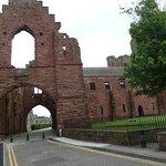 The Abbey entrance