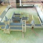 Model of the abbey in it's heyday