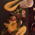 Noix de Saint Jacques aux légumes croquants 👍