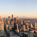 Space Needle and area attractions within walking distance.
