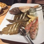 Sharing fish platter