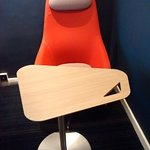 Swivel Chair and Table