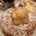 Best pumpkin pancakes ever! The orange marmalade butter was a perfect addition. Didn't need the
