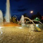 Wel lit park.