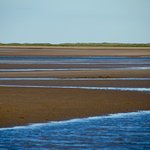 Brancaster Beach at low tide--very close to the hotel